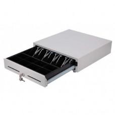 Денежный ящик FORT  5K (черный, Штрих) 410*410
