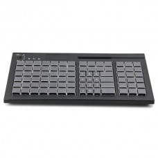 Клавиатура программируемая  KB 84 (84 клавиш, ридер 3 дор. черная,USB)