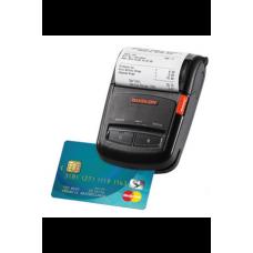 """Мобильный принтер Bixolon SPP-R210KM (термопечать; 203dpi; 2"""", Serial, USB, 3 track MSR)"""
