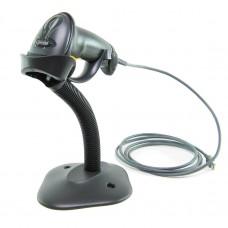 Сканер LS2208-SR, BLACK USB KIT, чёрный с кабелем и подставкой, арт.LS2208-SR20007R