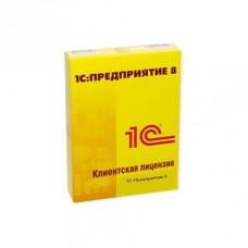 1С:Предприятие 8. Клиентская лицензия на 20 рабочих мест (USB)