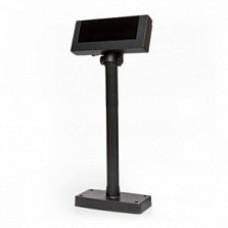 Дисплей покупателя Flytech 2x20 VFD черный(на подставке, с планкой питания)