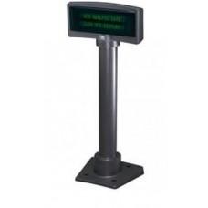Дисплей покупателя NCR 5975 2х20 VFD чёрный (в сборе с интерф. кабелем и подставкой)