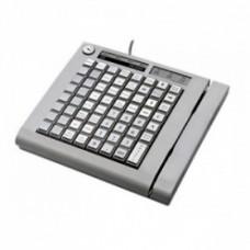 KB-64RK, программируемая клавиатура, 64 клавиши, с ридером магнитных карт, бежевая(1&2-я дор.) (пр-в