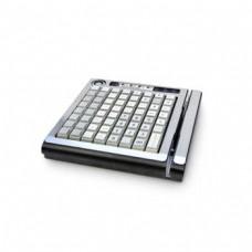 KB-64RK, программируемая клавиатура, 64 клавиши, с ридером магнитных карт, черная (1&2-я дор.) (пр-в