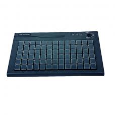 Клавиатура программируемая Shtrih S78A (78 клавиш; MSR123; ключ; PS/2), черная