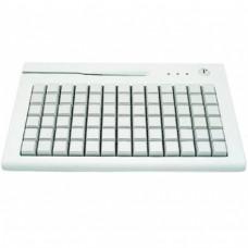Клавиатура программируемая Shtrih S78A (78 клавиш; MSR123; ключ; PS/2), белая
