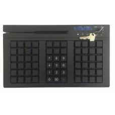 Клавиатура Программируемая i.kod KBR-66 USB (66 клавиш, ридер 1,2,3 дор, черная)