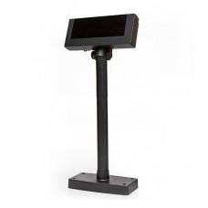 Дисплей покупателя  Mercury PD 1200  2*20 VFD на подставке (USB) черный