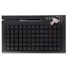 Клавиатура программируемая Heng Yu SA78A-SP, PS/2 , с ридером карт (1,2,3 дор.) (Чёрный)
