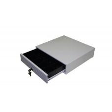 Денежный ящик NCR компактный 2186 бежевый (5 отделений для монет, 5 отделений для купюр)