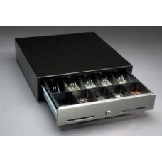 Денежный ящик NCR компактный 2186 чёрный (5 отделений для монет, 5 отделений для купюр)