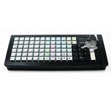 Клавиатура программируемая Posiflex KB-6600U-B  (66 клавиш, черная,USB)