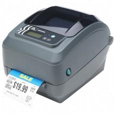 "Принтер Zebra GX420t (термо-трансферный, 203dpi; 4""; USB, RS232, LPT)(GX42-102520-000)"