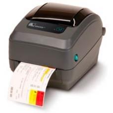 """Принтер Zebra GX430t (термо-трансферный, 300dpi; 4""""; USB, RS232, LPT, отрезчик)(GX43-102522-000)"""
